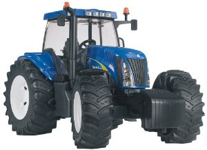 Bruder трактор New Holland T 8040 03020