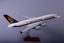 Airbus A380 Singapore Airlines модель самолета
