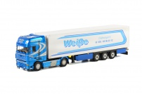 Трейлер DAF XF 105 SSC 4x2 Koeloplgger (3 as) Weisse