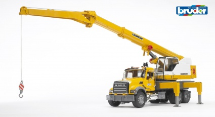 Bruder автокран MACK Granite LIEBHERR